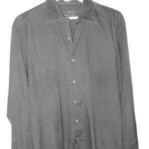 Prada Black Mens button down dress shirt.